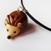 Cute Hedgehog Necklace