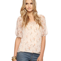Floral Lace Trim Top | FOREVER21 - 2005757913
