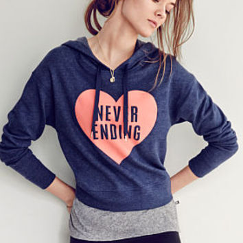 Fleece Dolman Hoodie - Victoria's Secret