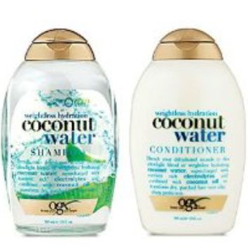 Organix Weightless Hydration Coconut Water ShampooConditioner