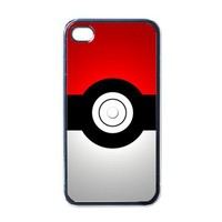 Apple iPhone Case - Pokeball Pokemon TV Cartoon - iPhone 4 Case Cover | Merchanstore - Accessories on ArtFire