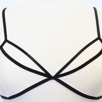 Ivory Crossed My Mind Bralette