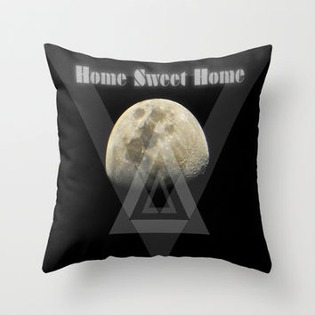 MoonChild Throw Pillow by DuckyB (Brandi)