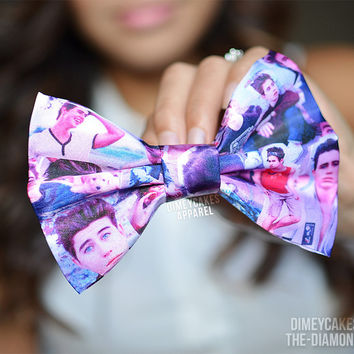 Nash Grier Hair Bow - Dimeycakes - Hair Bows, Cases, & Apparel