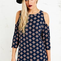 Staring at Stars Colour Shoulder Tunic Top - Urban Outfitters