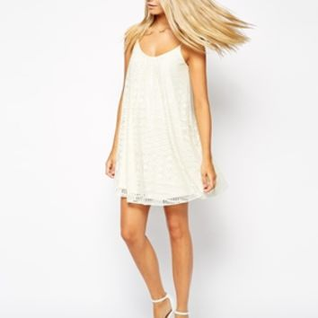 ASOS Swing Dress In Lace