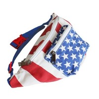 The 'Merica Fanny Pack   American Flag Fanny Pack   Rave Accessories