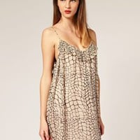 Karen Walker | Karen Walker Giraffe Slip Dress at ASOS