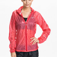 NIKE CYCLONE JACKET - RED TRANSPARANT