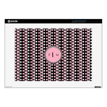 Polka dots n Stripes Monogram