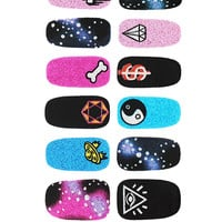 Galaxy Rush Nail Transfers