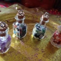 Wearable Stone Therapy - customized stone bottles - carry stone energy