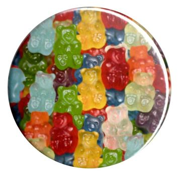 B2 – GUMMY BEARS COMPACT MIRROR