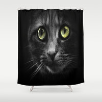 looking at you Shower Curtain by  Alexia Miles photography
