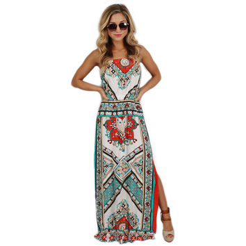 Coast To Coast Maxi in Orange