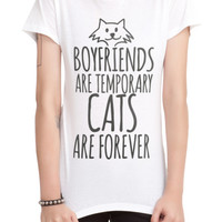 Cats Forever Girls T-Shirt
