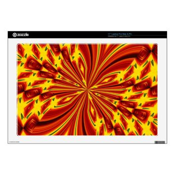Abstract Butterfly Laptop Skin