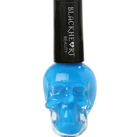 Blackheart Blue Neon Nail Polish