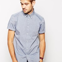 Jack Wills Shirt in Chambray Polka Dot at asos.com