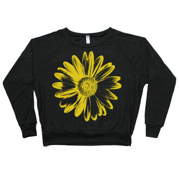 Sunflower Child Daisy Raglan Pullover
