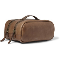 J.Crew - Montague Leather Wash Bag | MR PORTER