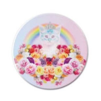 B2 – PRINCESS RAINBOW CAT COMPACT MIRROR