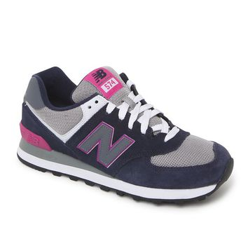 New Balance 574 Core Plus Collection Sneakers - Womens Shoes - Blue