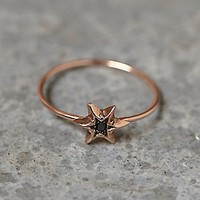 Workhorse Womens Itzel Diamond Ring - Rose Gold