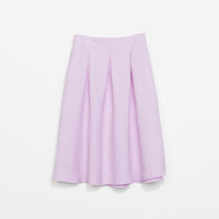 A-LINE SKIRT WITH WAISTBAND
