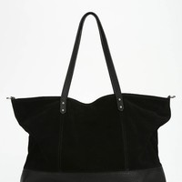 BDG Myles Suede Colorblock Tote Bag - Urban Outfitters