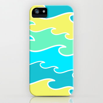 Ocean Waves iPhone & iPod Case by tzaei | Society6
