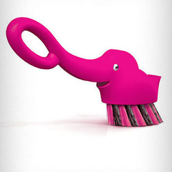 Pink Elephant Dish Scrubber Brush $10