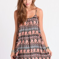 Long Distance Printed Dress