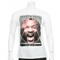 Tee Shirt Cash N Day Space Willy 117 Blanc - LaBoutiqueOfficielle.com