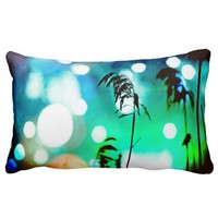 Blue Grass Drama Sparkle Throw Pillows