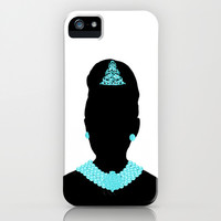 For Audrey iPhone & iPod Case by Miss Golightly