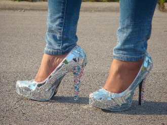 Mirror On The Wall Heels