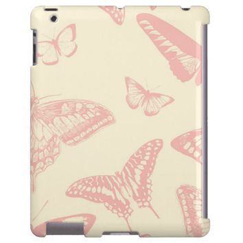 Butterfly (Butterflies), Insects - Pale Pink