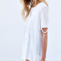 Truly Madly Deeply Exposed Seam Bird Tee - Urban Outfitters