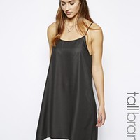 Glamorous Tall Double Layer Colour Block Cami Dress at asos.com