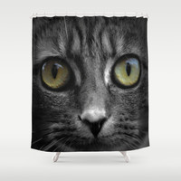 Mila  Shower Curtain by  Alexia Miles photography
