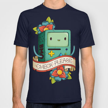 BMO | CHECK PLEASE T-shirt by Daniel Mackey