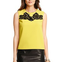 Betty Embellished Shell Top