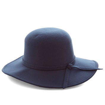 Topper the Morning Hat in Navy | Mod Retro Vintage Hats | ModCloth.com