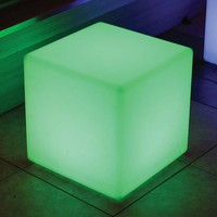 Color Changing Waterproof LED Light - Cube