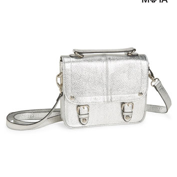 METALLIC SHINE CROSSBODY BAG