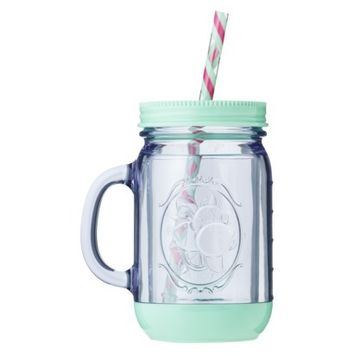 Aladdin Plastic Mason Jar Travel Mug 20 oz