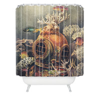 Terry Fan Sea Change Shower Curtain