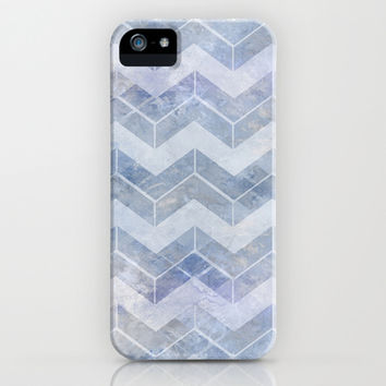 abstract pattern blue iPhone & iPod Case by VanessaGF