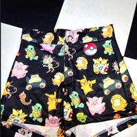 SWEET LORD O'MIGHTY! POKEMON BOOTY SHORTS
